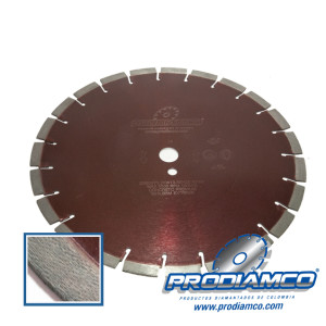 "Disco Diamantado Extreme 14"" segmentado Concreto Linea Profesional"
