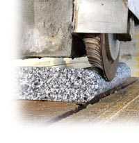 Muelas Diamantadas para el canteado, rectificado, calibrado, pulido y biselado del Mármol, Granito y Piedra