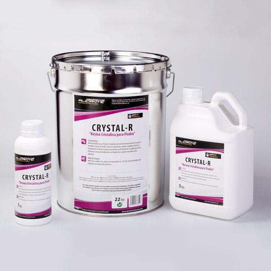 CRYSTAL-R. Resina Cristalina para Piedra