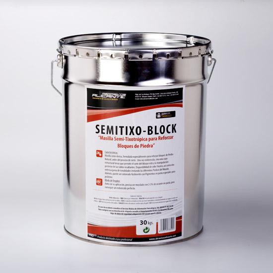 SEMITIXO-BLOCK. Masilla Semi-Tixotrópica para Reforzar Bloques de Piedra