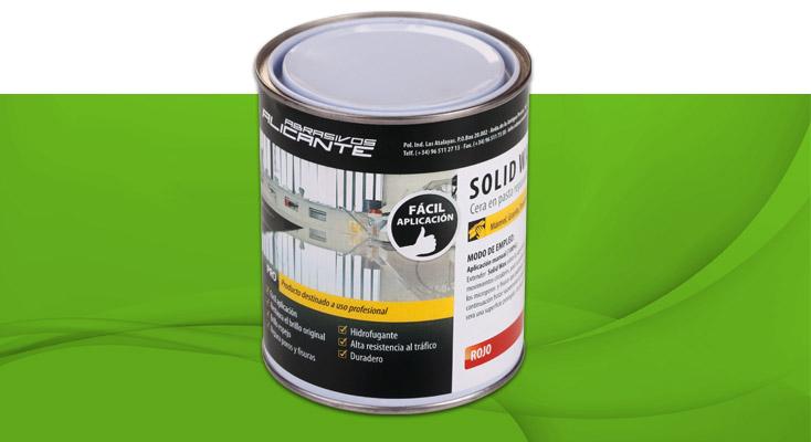 SOLID WAX. Cera en pasta reparadora y abrillantadora
