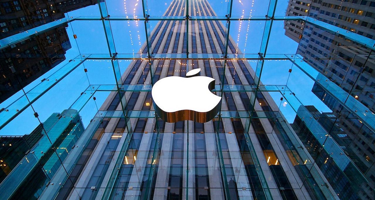 Utilización de vidrio en las fachadas de Apple