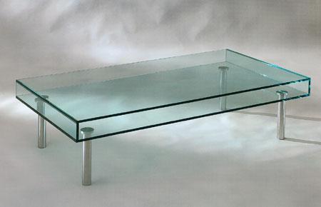 Mobiliario de vidrio