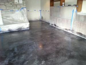 Dando vida a un suelo de concreto