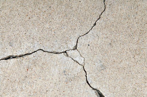 Reparación de grietas en el concreto