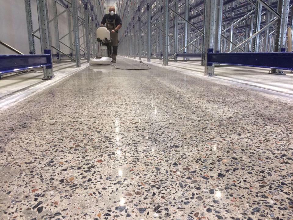 Mantenimiento de suelos cristalizados