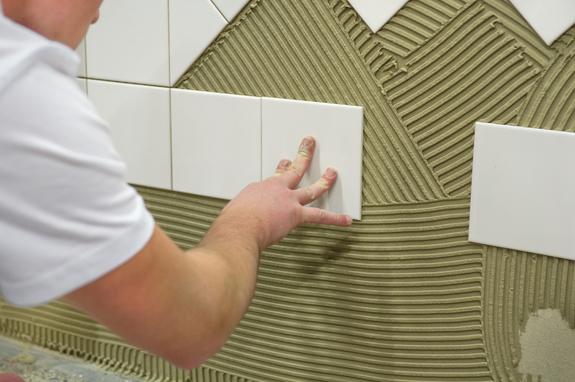 Cómo instalar azulejos