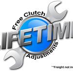 Ajuste del clutch gratis de por vida