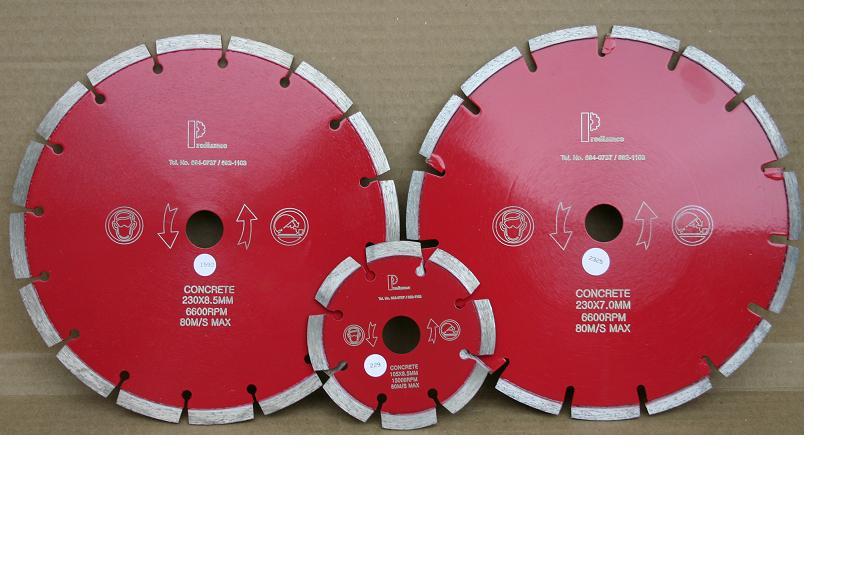Discos Diamantados Profesionales para el corte de Concreto y Asfalto