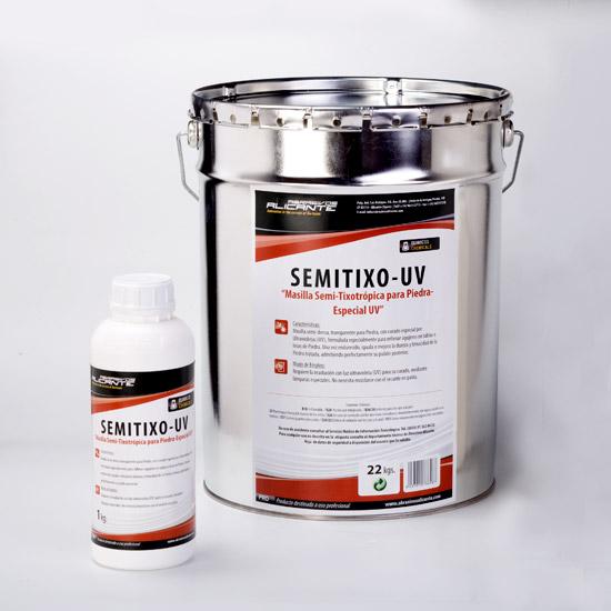 SEMITIXO-UV. Masilla Semi-Tixotrópica para Piedra-Especial UV