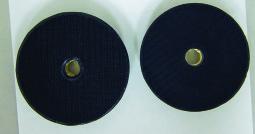 Backer pads 130338 130120 Velcro side