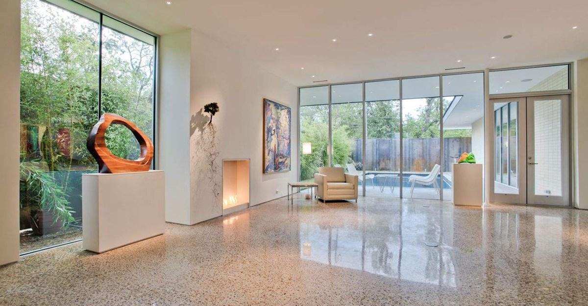 Concreto pulido, tendencia en pisos brillantes
