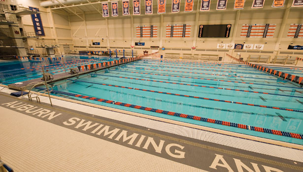 La renovación del James E. Martin Aquatics Center