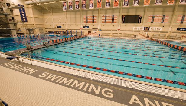 La renovación del James E. Martin Aquatics Center