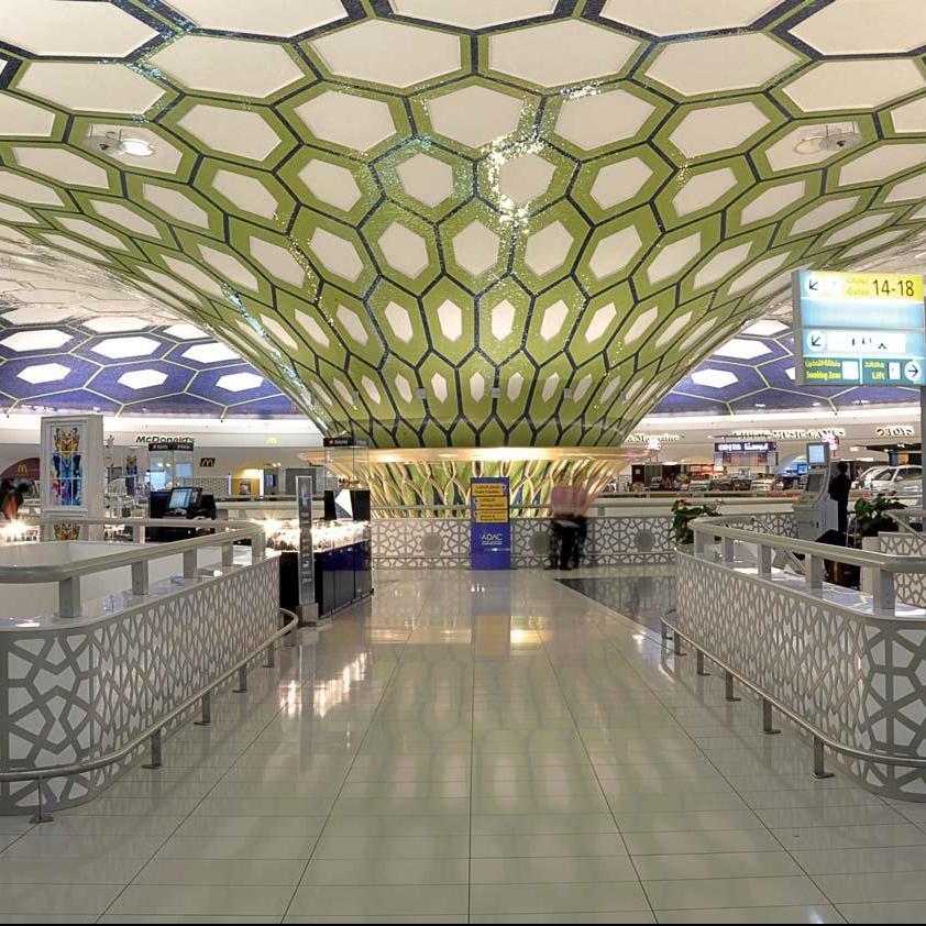 Uso de Cuarzo en el Aeropuerto de Abu Dabi