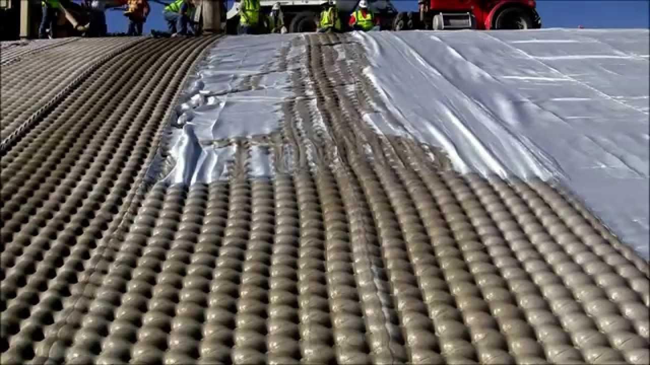 Sistema de concreto para controlar inundaciones