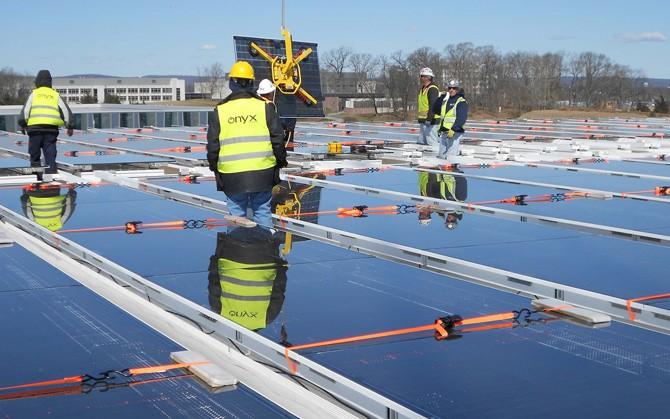El lucernario fotovoltaico más grande del mundo