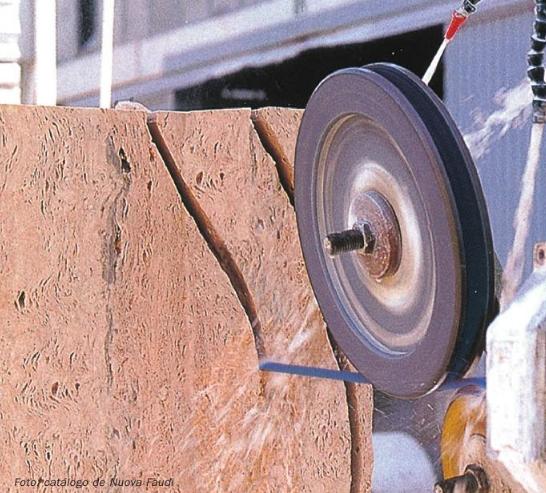 Usos del diamante industrial para trabajar la piedra