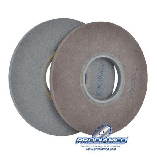 Low emission glass edge deletion coating removal grinding wheel