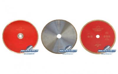 Discos diamantados para corte de vidrio:  elección y recomendaciones