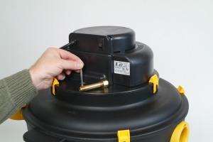 sistema de limpieza de filtros de aspiradora