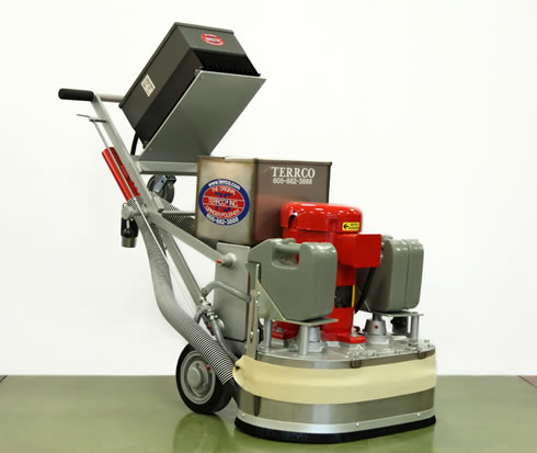 terrco grinding machines