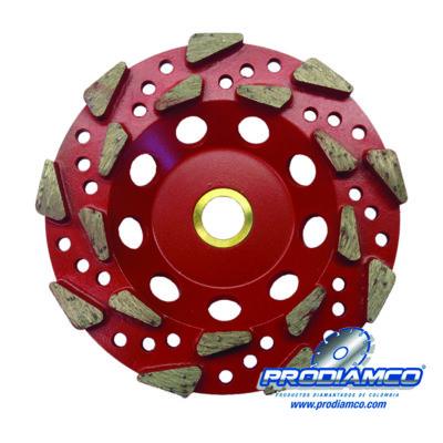 Cup grinding wheel